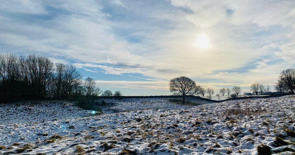 Stanton Hill Walk in Snow