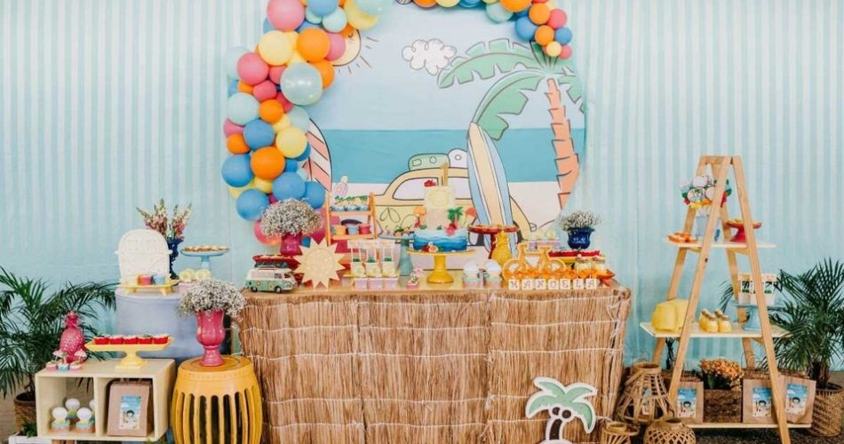 Outdoor toddler party